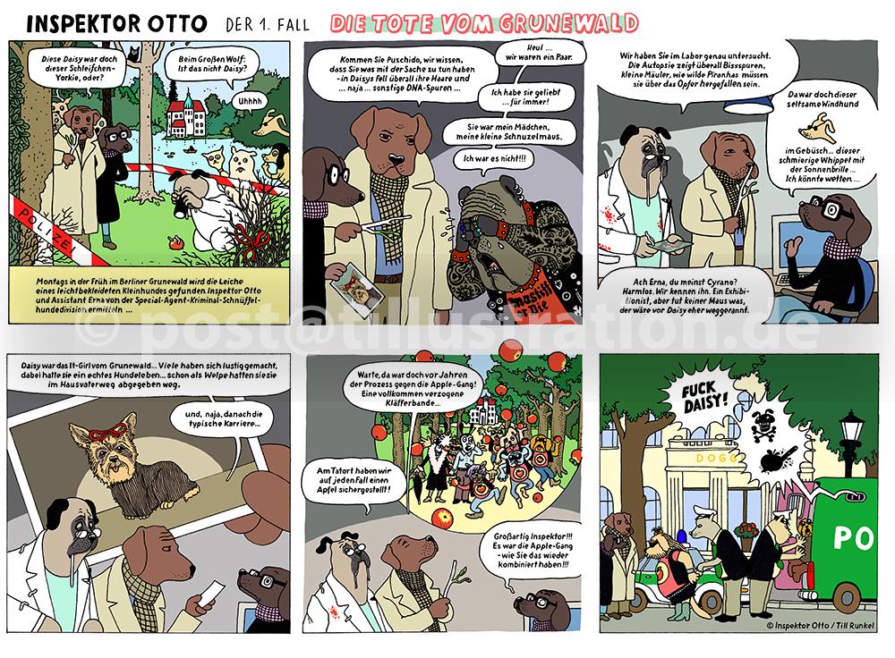 Inspektor Otto Der 1. Fall: Die Tote vom Grunewald
